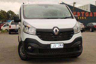 2016 Renault Trafic X82 MY17 LWB White 6 Speed Manual Van.