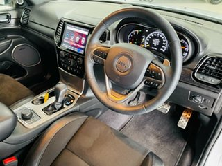 2018 Jeep Grand Cherokee WK MY19 S-Overland White 8 Speed Sports Automatic Wagon