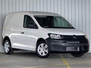 2021 Volkswagen Caddy SKN MY21 TDI320 Cargo SWB DSG White 7 Speed Sports Automatic Dual Clutch Van.