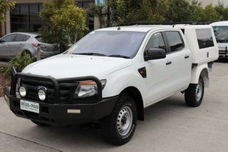 2015 Ford Ranger PX XL White 6 speed Automatic Cab Chassis.