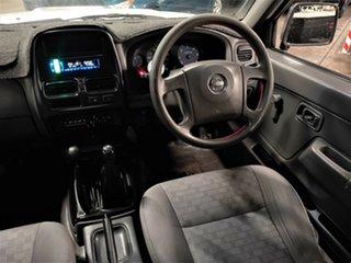 2003 Nissan Navara D22 MY2002 DX White 5 Speed Manual Utility