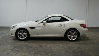 2012 Mercedes-Benz SLK-Class R172 SLK250 BlueEFFICIENCY 7G-Tronic + White 7 Speed Sports Automatic