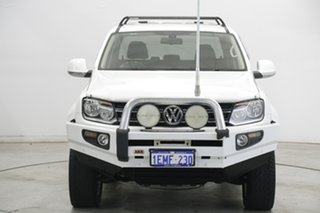 2014 Volkswagen Amarok 2H MY14 TDI420 4Motion Perm Ultimate White 8 Speed Automatic Utility.
