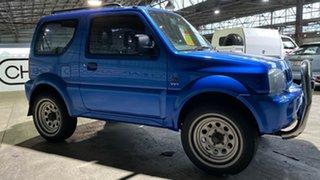 2001 Suzuki Jimny SN413 Type2 JLX Blue 5 Speed Manual Hardtop.