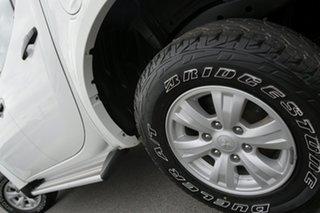 2013 Mitsubishi Triton MN MY14 GLX Double Cab White Solid 5 Speed Manual Utility