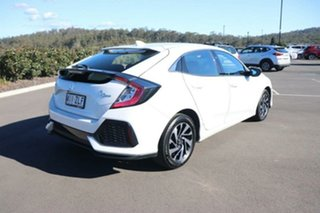 2019 Honda Civic 10th Gen MY19 50 Years Edition Platinum White 1 Speed Constant Variable Hatchback