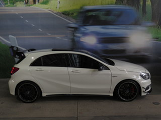 2014 Mercedes-Benz A45 176 AMG White 7 Speed Auto Dual Clutch Hatchback.