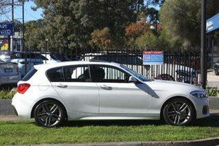 2016 BMW 1 Series F20 LCI 125i M Sport White 8 Speed Sports Automatic Hatchback.