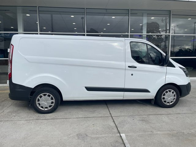 Used Ford Transit Custom VN 340L (Low Roof) Ferntree Gully, 2017 Ford Transit Custom VN 340L (Low Roof) White 6 Speed Automatic Van