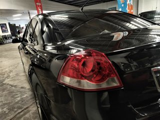 2012 Holden Commodore VE II MY12 SV6 Metallic Black 6 Speed Manual Sedan