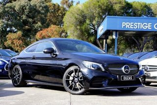 2018 Mercedes-Benz C-Class C205 809MY C300 9G-Tronic Black 9 Speed Sports Automatic Coupe.