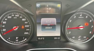 2017 Mercedes-Benz C-Class W205 808MY C200 9G-Tronic White 9 Speed Sports Automatic Sedan.
