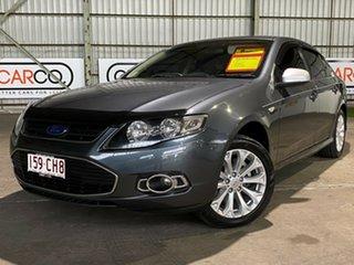 2012 Ford Falcon FG MkII G6E EcoLPi Grey 6 Speed Sports Automatic Sedan.