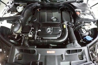 2014 Mercedes-Benz C-Class C204 MY14 C250 7G-Tronic + White 7 Speed Sports Automatic Coupe