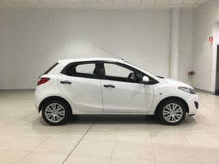 2010 Mazda 2 DE10Y1 MY10 Neo Cool White 4 Speed Automatic Hatchback.