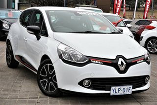2015 Renault Clio IV B98 Expression White 5 Speed Manual Hatchback.