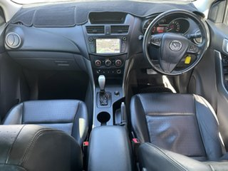 2017 Mazda BT-50 UR0YG1 GT Silver 6 Speed Sports Automatic Utility.