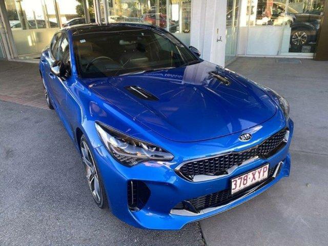 Used Kia Stinger CK MY18 GT Fastback Springwood, 2018 Kia Stinger CK MY18 GT Fastback Blue 8 Speed Sports Automatic Sedan