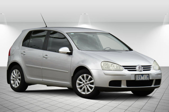 Used Volkswagen Golf V MY08 Edition DSG Oakleigh South, 2008 Volkswagen Golf V MY08 Edition DSG Silver 6 Speed Sports Automatic Dual Clutch Hatchback