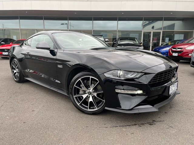 Used Ford Mustang FN 2020MY High Performance RWD Essendon Fields, 2020 Ford Mustang FN 2020MY High Performance RWD Black 10 Speed Sports Automatic Fastback