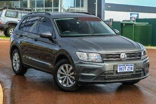2017 Volkswagen Tiguan 5N MY17 110TSI 2WD Trendline Grey 6 Speed Manual Wagon.