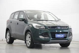 2015 Ford Kuga TF MY15 Ambiente 2WD Green 6 Speed Sports Automatic Wagon.