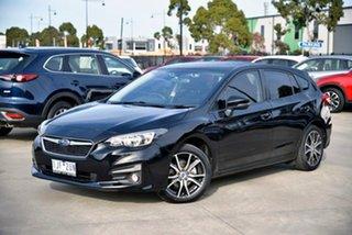 2016 Subaru Impreza G5 MY17 2.0i-L CVT AWD Black 7 Speed Constant Variable Hatchback.
