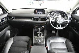 2017 Mazda CX-5 KF4W2A Akera SKYACTIV-Drive i-ACTIV AWD Red 6 Speed Sports Automatic Wagon.