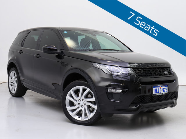 Used Land Rover Discovery Sport L550 MY18 SD4 (177kW) HSE 7 Seat, 2018 Land Rover Discovery Sport L550 MY18 SD4 (177kW) HSE 7 Seat Black 9 Speed Automatic Wagon