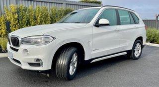 2014 BMW X5 F15 sDrive25d White 8 Speed Automatic Wagon.