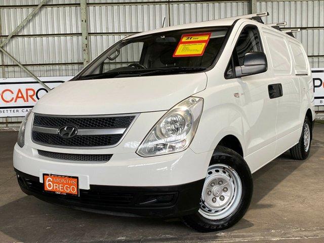 Used Hyundai iLOAD TQ-V MY11 Rocklea, 2011 Hyundai iLOAD TQ-V MY11 White 5 Speed Sports Automatic Van