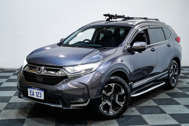 Used Honda CR-V RW MY18 VTi-LX 4WD Edgewater, 2018 Honda CR-V RW MY18 VTi-LX 4WD Silver 1 Speed Constant Variable Wagon