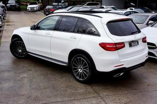 2018 Mercedes-Benz GLC-Class X253 808MY GLC220 d 9G-Tronic 4MATIC White 9 Speed Sports Automatic