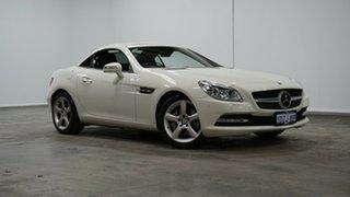 2012 Mercedes-Benz SLK-Class R172 SLK250 BlueEFFICIENCY 7G-Tronic + White 7 Speed Sports Automatic.