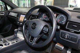 2017 Volkswagen Touareg 7P MY17 V8 TDI Tiptronic 4MOTION R-Line White 8 Speed Sports Automatic Wagon.