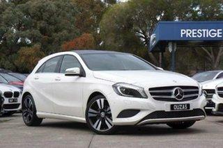 2015 Mercedes-Benz A-Class W176 806MY A200 D-CT White 7 Speed Sports Automatic Dual Clutch Hatchback.