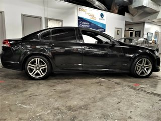2012 Holden Commodore VE II MY12 SV6 Metallic Black 6 Speed Manual Sedan.