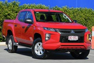 2018 Mitsubishi Triton MR MY19 GLX+ Double Cab Red 6 Speed Manual Utility.