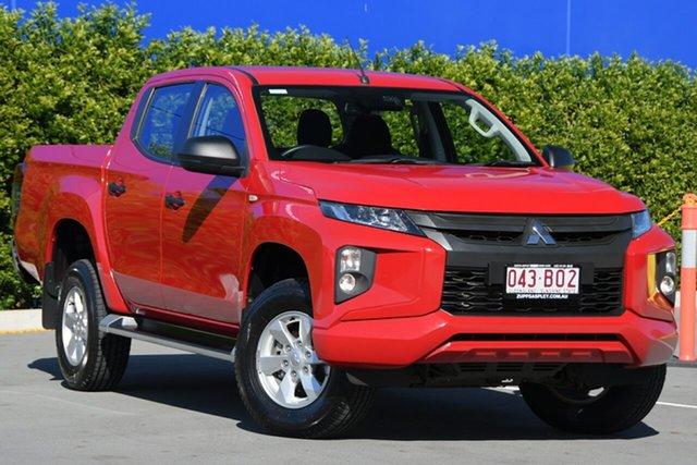 Used Mitsubishi Triton MR MY19 GLX+ Double Cab Aspley, 2018 Mitsubishi Triton MR MY19 GLX+ Double Cab Red 6 Speed Manual Utility