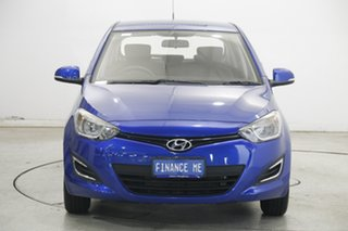 2014 Hyundai i20 PB MY14 Active Blue 6 Speed Manual Hatchback.
