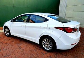 2016 Hyundai Elantra MD Series 2 (MD3) Trophy White 6 Speed Automatic Sedan