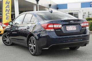 2017 Subaru Impreza G5 MY17 2.0i CVT AWD Dark Blue Pearl 7 Speed Constant Variable Sedan.