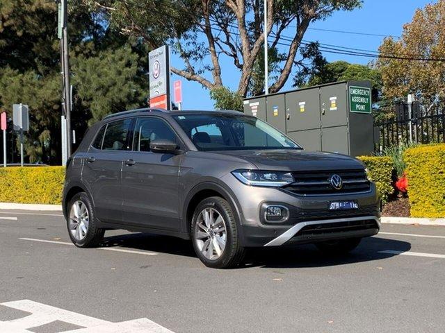 New Volkswagen T-Cross C1 MY21 85TSI DSG FWD Style Botany, 2021 Volkswagen T-Cross C1 MY21 85TSI DSG FWD Style Grey 7 Speed Sports Automatic Dual Clutch Wagon
