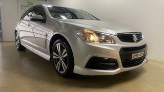 2015 Holden Commodore VF MY15 SV6 Silver 6 Speed Automatic Sedan.
