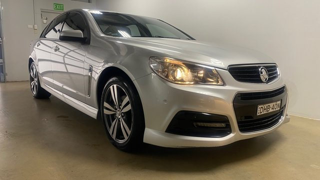 Used Holden Commodore VF MY15 SV6 Phillip, 2015 Holden Commodore VF MY15 SV6 Silver 6 Speed Automatic Sedan