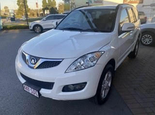 2011 Great Wall X240 CC6460KY White 5 Speed Manual Wagon.