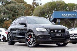 2016 Audi SQ5 8R MY16 plus Tiptronic Quattro TDI Black 8 Speed Sports Automatic Wagon