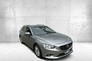 2013 Mazda 6 GJ1031 Sport SKYACTIV-Drive Silver 6 Speed Sports Automatic Wagon.
