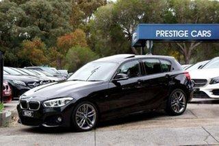 2016 BMW 1 Series F20 LCI 125i M Sport Black 8 Speed Sports Automatic Hatchback