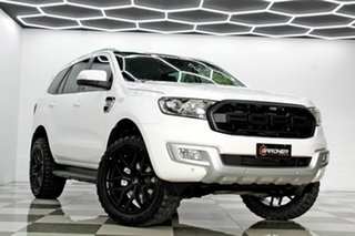 2018 Ford Everest UA MY18 Trend (RWD) White 6 Speed Automatic SUV.